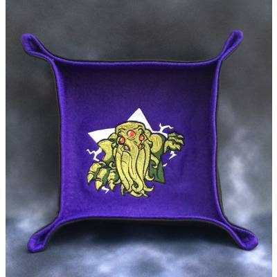 Cthulhu Star Purple Dice Tray